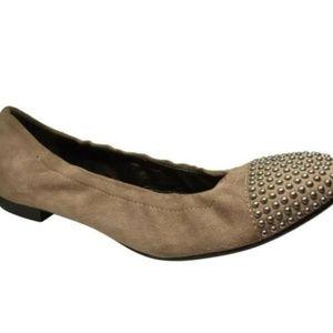 Attillio Giusti Leombrunie Suede Shoes Flats 8.5